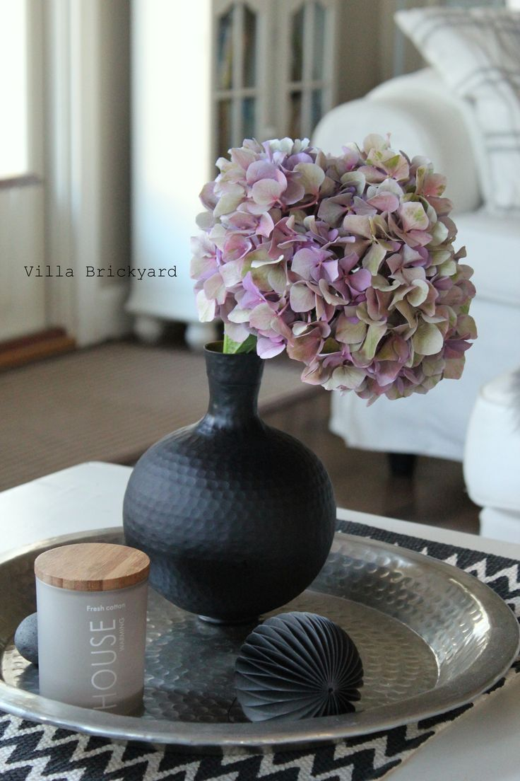 Our living room and hortensia, Villa Brickyard photos