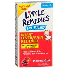 Little Remedies Infant Fever/Pain Reliever Acetaminophen, Dye-Free Berry at Walgreens. Get free shipping at $35 and view promotions and reviews for Little Remedies Infant Fever/Pain Reliever Acetaminophen, Dye-Free Berry