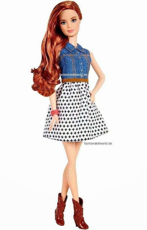 ATUALIZADO:Essa boneca vai fazerparte da nova coleção das bonecasFashionistas(wave 1). Conforme informações, em 2015 a Mattel lançará uma nova amiga da Barbie. Essa nova amiga da Barbie lembr…