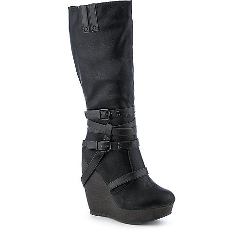 Shiekh Lakers-9 womens platform wedge boot