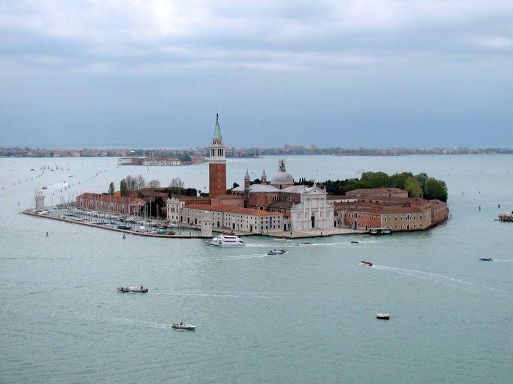 View of San Giorgio Maggiore from St Mark's Campanile, Venice