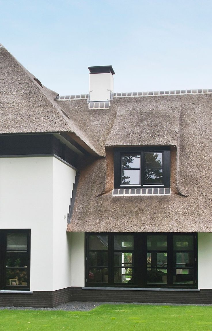 Beautiful thatched home!