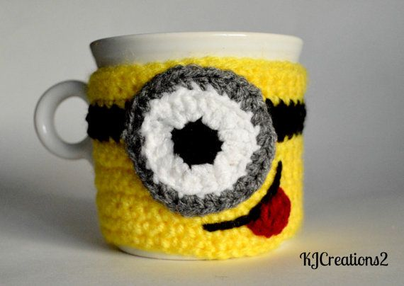 Minion...could make a quilted coffee cozy