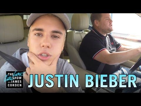 Justin Bieber and James Corden Sing Carpool Karaoke Again (and This Time, They Cover Alanis Morissette's Ironic) | E! Online Mobile