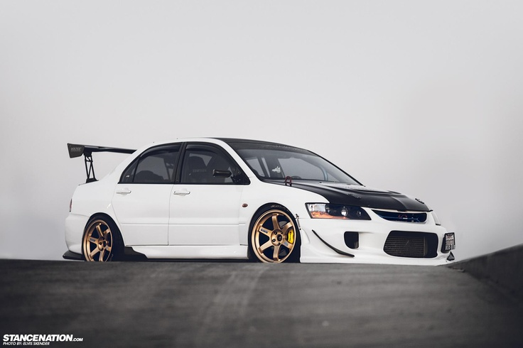 Full Feature Here: http://www.stancenation.com/2012/10/16/the-endless-saga-algiers-wicked-mitsubishi-evo/