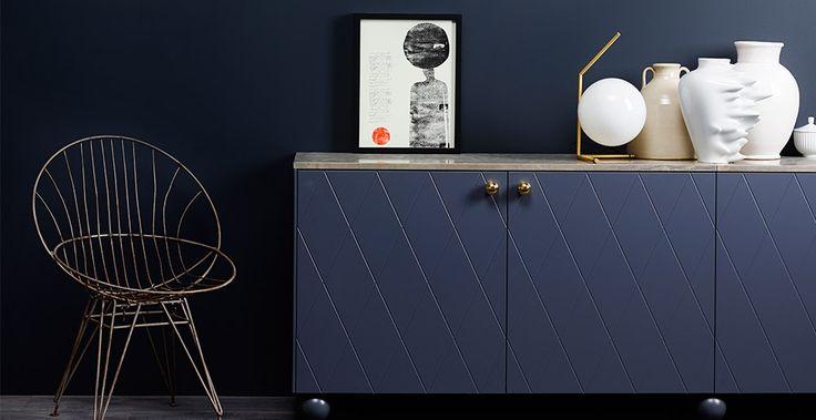 SOPHISTICATED BLUE 4744 Farge Interiør | Jotun.no