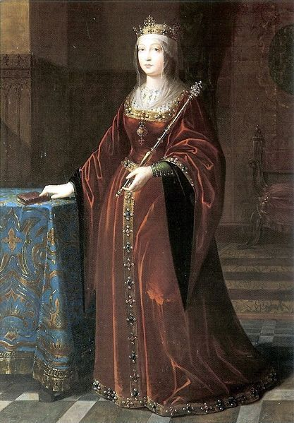 Queen Isabella of Castile married King Ferdinand which finally United Spain. Isabella was mother of Catherine of Aragon (Henry VIII's 1st wife) & of Juana the Mad. She was a devout Catholic who helped form the infamous Spanish Inquisition & she exiled the Jews from Spain.