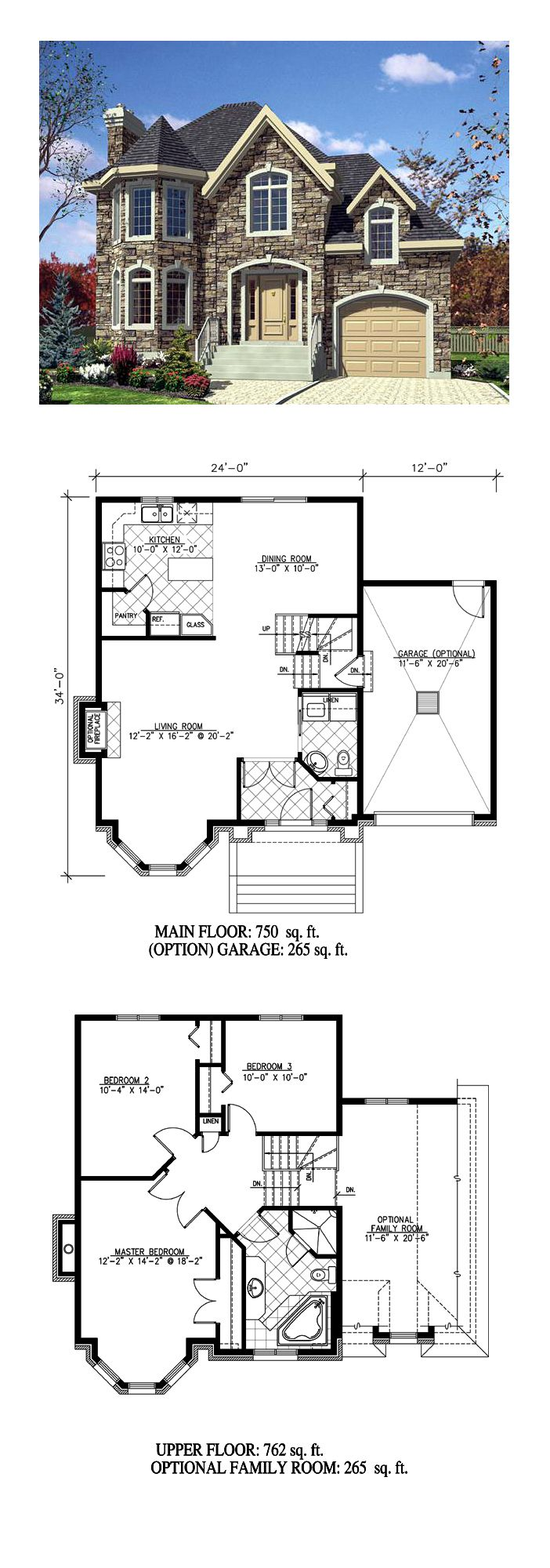 Victorian House Plan 48188 | Total Living Area: 1512 sq. ft., 3 bedrooms and 2 bathrooms. #victorianhome
