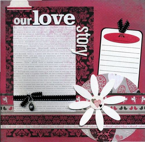 Our Love Story   Premade Scrapbook Page150 best Wedding Scrapbook images on Pinterest   Wedding scrapbook  . Premade Wedding Scrapbook. Home Design Ideas