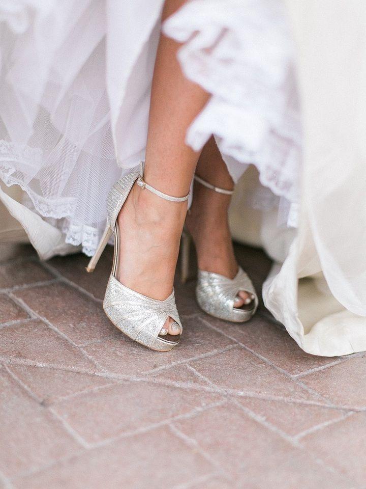 Single Heart Bride Shoe 103