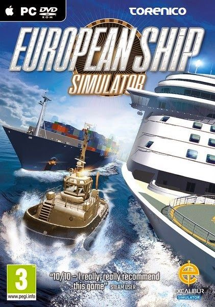 Jugando con el Tore: European Ship Simulator