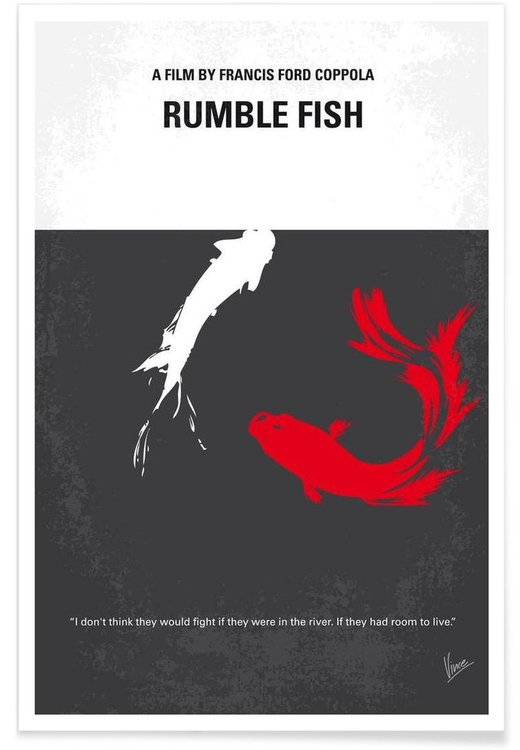 112 best images about rumble fish 1983 on pinterest for Rumble fish summary