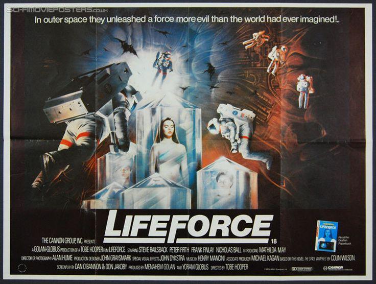 Lifeforce (1985) - Original British Quad Movie Poster
