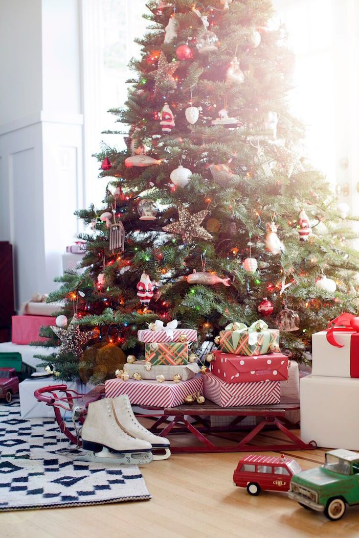 Christmas tree styling tip – go with a theme