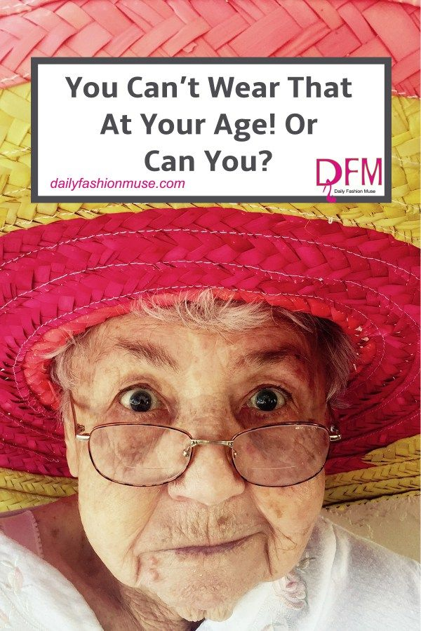 Wondering if you're dressing age appropriate? Overwhelmed by fashion rules? I'll teach you to break the rules of fashion and look younger while you're at it. -Daily Fashion Muse