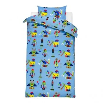 Jakari duvet cover and pillow case for children MARIMEKKO