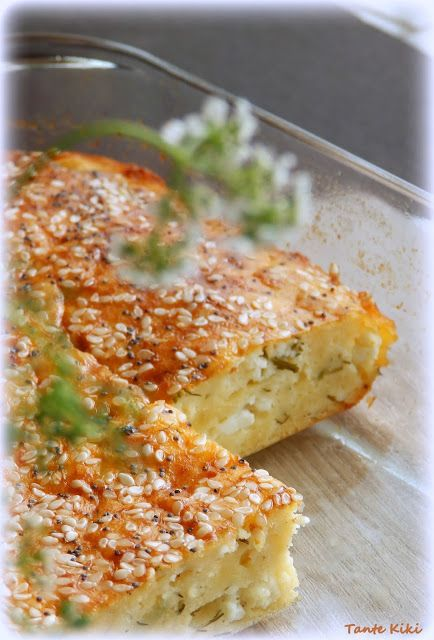 Tante Kiki: Ανηθοτυρόπιτα χωρίς φύλλο η ...Ελλάδα σε ένα πιάτο!