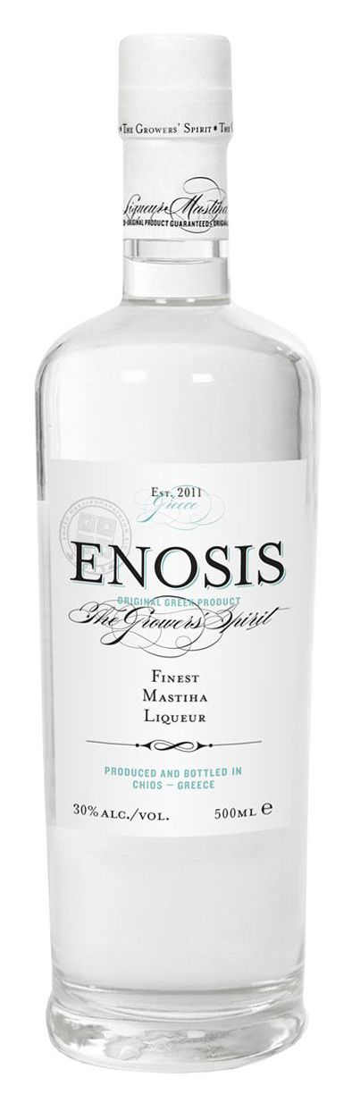 Enosis Mastiha Liqueur   Dimitris Stefanidis, Greece
