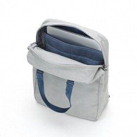 Qwstion Simplepack lightgrey Rucksack Tagesrucksack Backpack offen