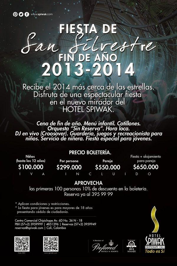 Fiesta de San Silvestre Hotel Spiwak
