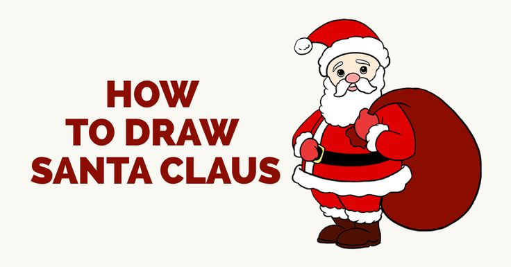 Learn How to Draw Santa Claus: Easy Step-by-Step Drawing Tutorial for Kids and Beginners. #drawing #tutorial #christmas #santaclaus See the full tutorial at https://easydrawingguides.com/how-to-draw-santa-claus/