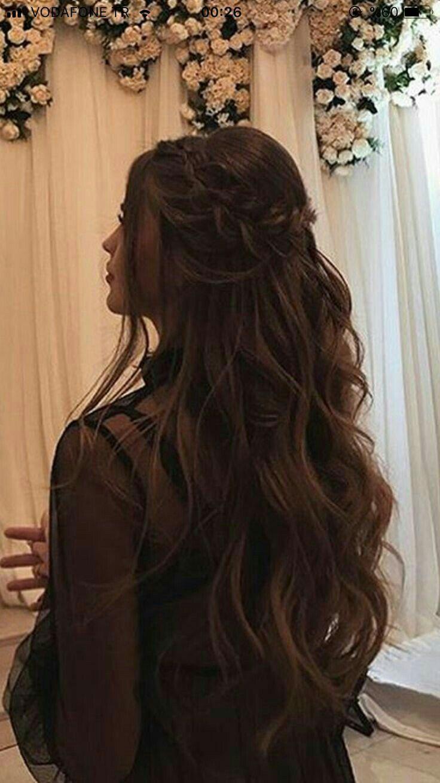 Pin By Maria On Makeup Hair In 2021 Hair Styles Long Hair Wedding Styles Beautiful Girl Makeup
