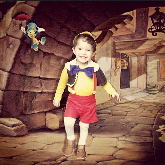 Pinocchio toddler boy costume #disney