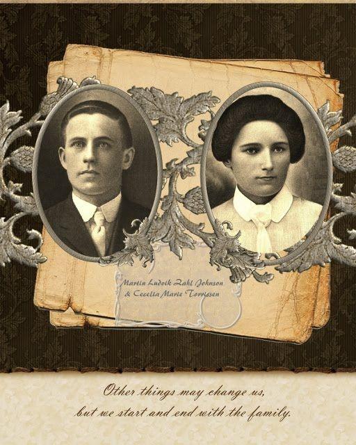genealogy digital scrapbook - Google Search