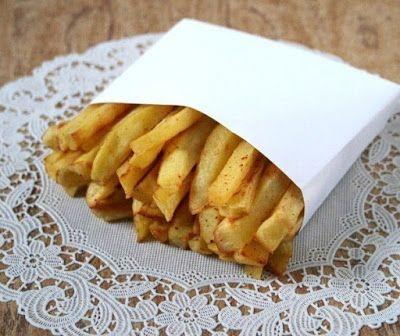 Самые лучшие кулинарные шедевры: Полезный и хрустящий Картофель фри (без масла)