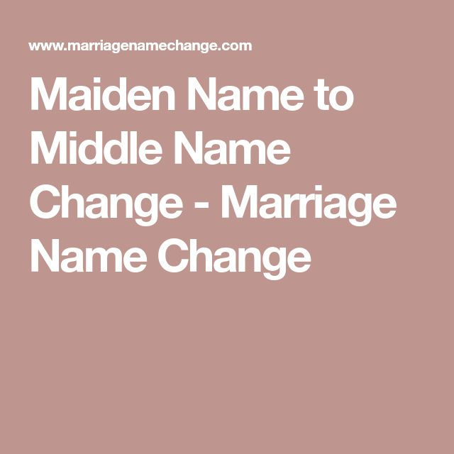 Best 25 Middle Name Ideas On Pinterest