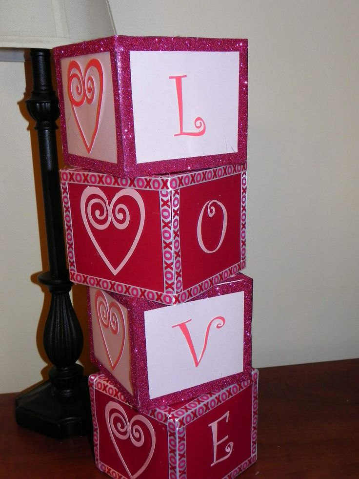 Valentine Decorated Boxes 34 Best Valentines Images On Pinterest  Valentine Crafts