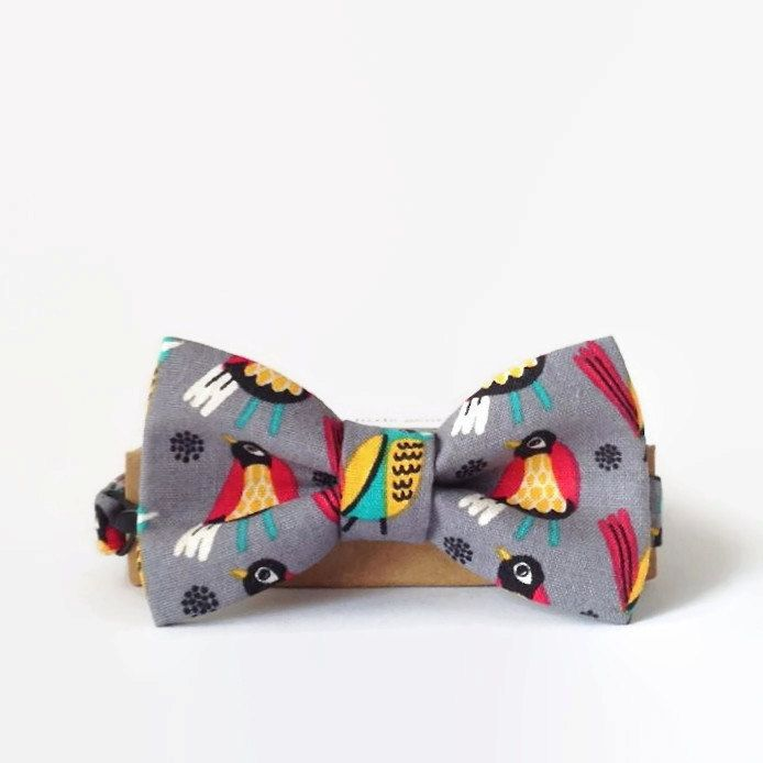 Boys Bow Tie- Bow Ties- Little Beau- Birds by MyLittleBeau on Etsy $34.00
