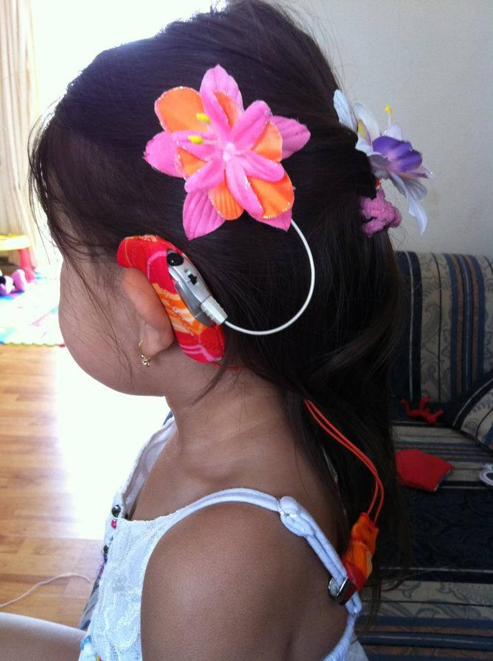 Flower cochlear implants!!