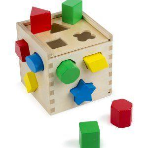 Melissa & Doug Shape Sorting Cube... £9.60
