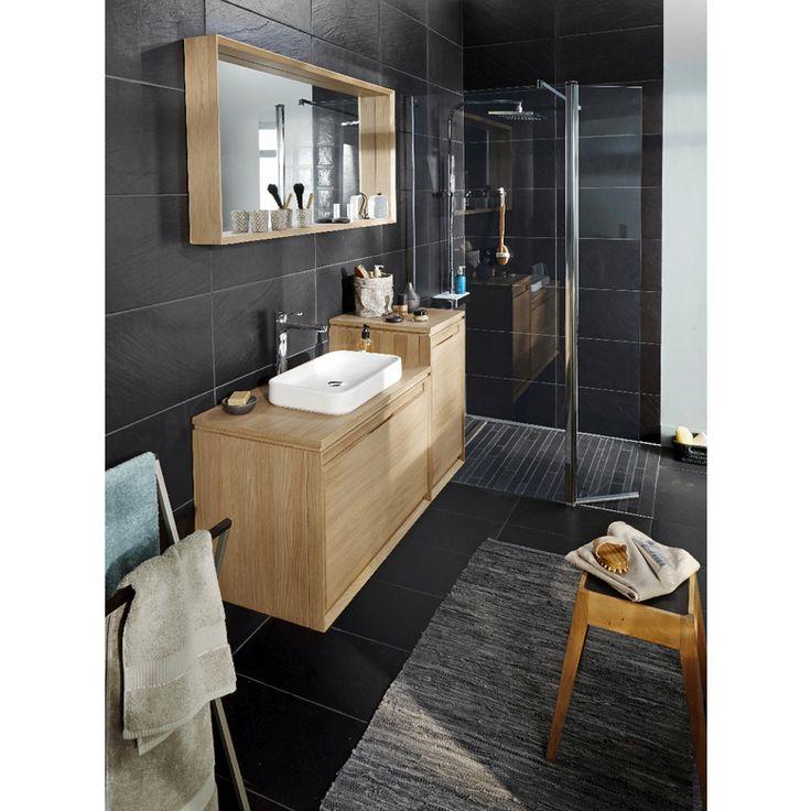 28 best meubles salle de bain images on Pinterest Bathroom - leroy merlin meuble salle de bain neo