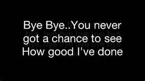mariah carey bye bye lyrics - Bing images