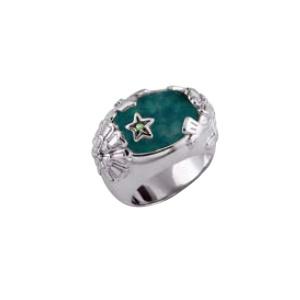KENZO Isadora Garnet Ring