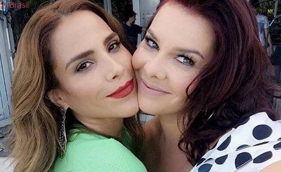 No Instagram, Wanessa Camargo tieta Fernanda Souza e atriz retribui carinho