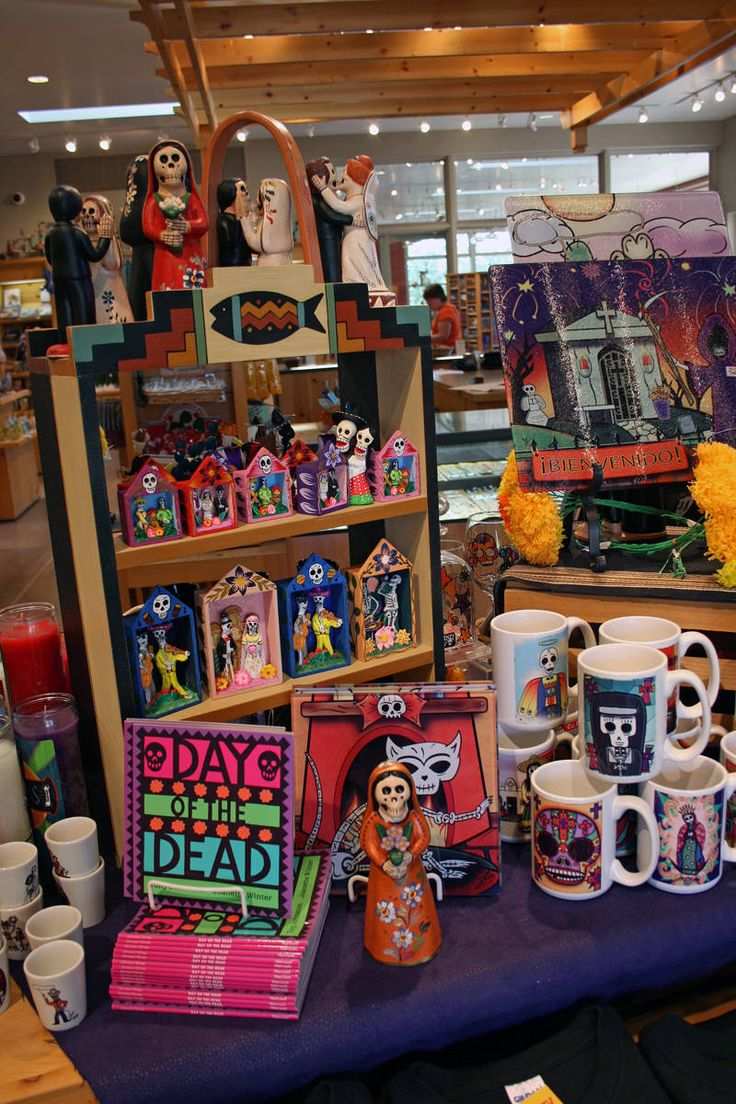 The Desert Botanical Garden Shop - Day of the Dead Display  From Elizabeth R. Rose, former About.com Guide