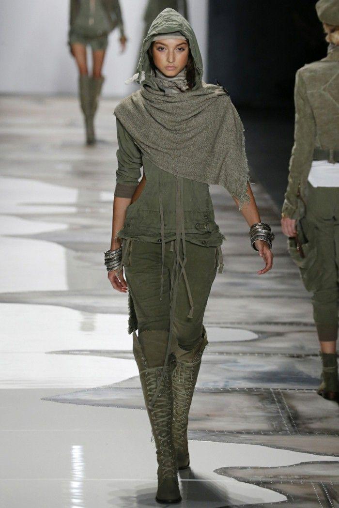 Summer fashion women's fashion women's Greg Lauren 2016 military style scarf Cap boots