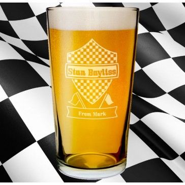 racing pint glass, personalised gift, f1, forumla one wallpaper