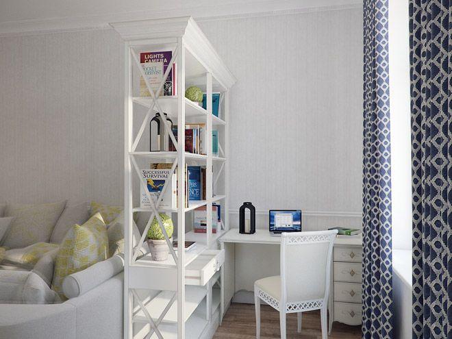 Гостиная. Интерьер трехкомнатной квартиры в средиземноморском стиле на ул.Типанова