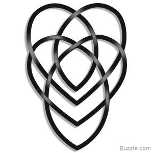The Celtic motherhood knot tattoo symbolizes the strong bond between the mother and her child, or love for one's child.This is the one we choose.. WE Love. it..