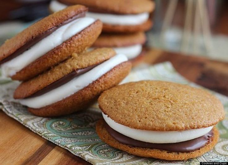 s'mores whoopie pie