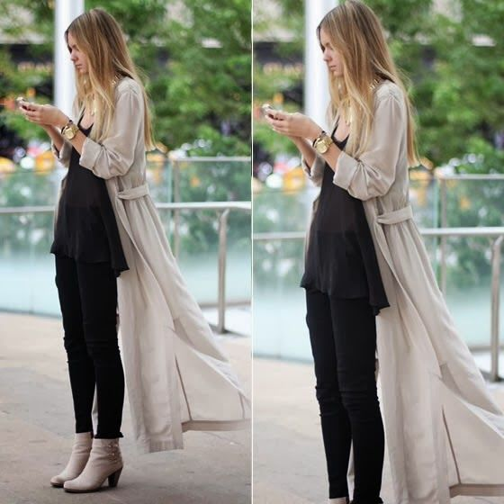 How to Chic: MAXI CARDIGAN