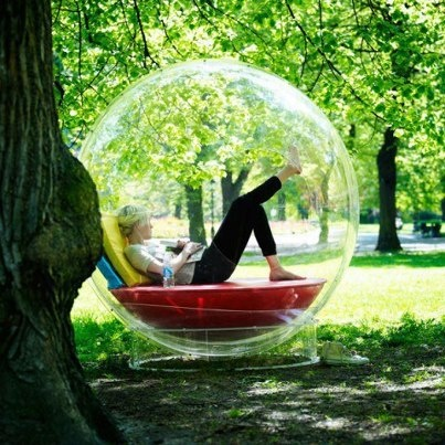 I want my own bubble!