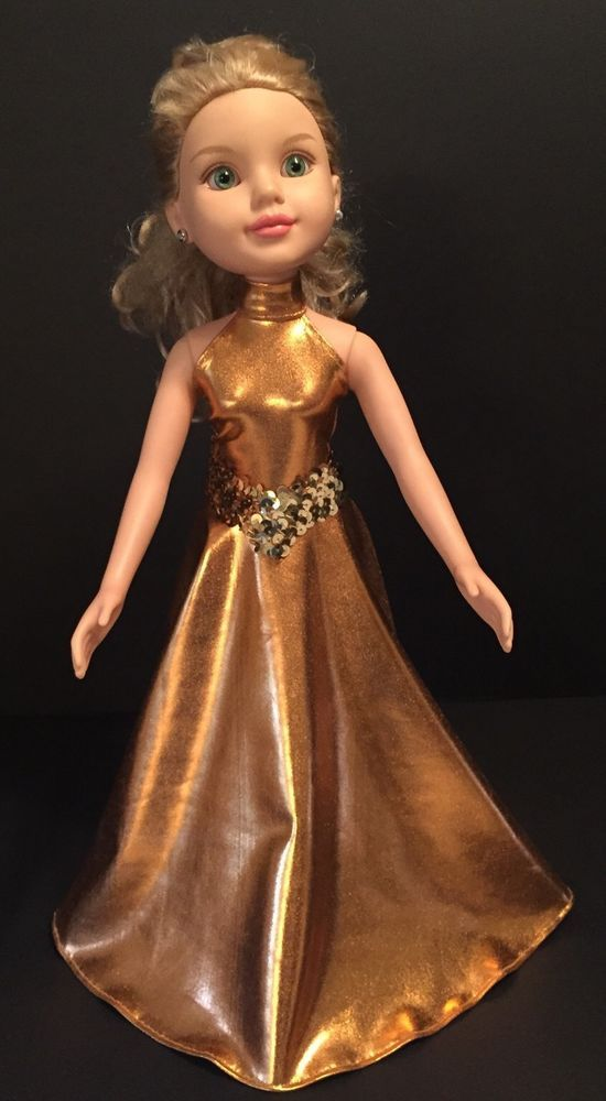 """2009 MGA Entertainment Best Friends Club Doll 18"""" Jointed Blonde Green Eyes #MGAEntertainment"""