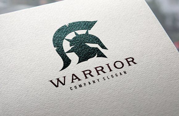 Warrior logo by Super Pig Shop on @creativemarket