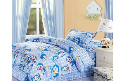 doraemon-twin-bedding