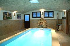 Una piscina climatizada en una casa del pueblo de Grazalema... :O